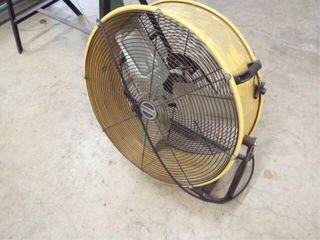 24  Metal floor fan