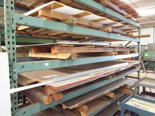 Heavy Duty Metal shelving Asst Aluminum sheets