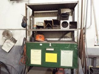 Shelving  Welding rods  grinder wheels
