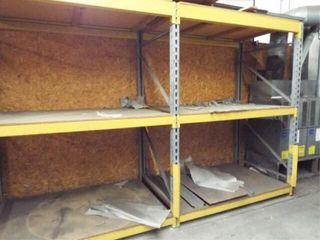 2 Heavy Duty Metal Shelves