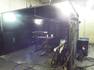 De Vilbiss Exhaust System   Paint booth