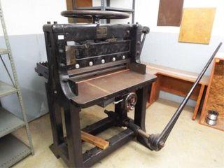 Chandler   Price Industrial Grade Paper cutter