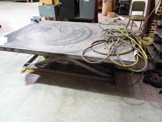 Southworth lift table w  hydraulic pump