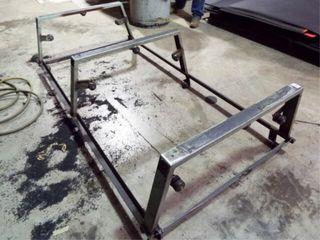 Metal frame Plastic bender with rollers