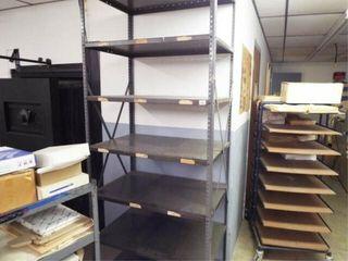 3 Metal Shelves