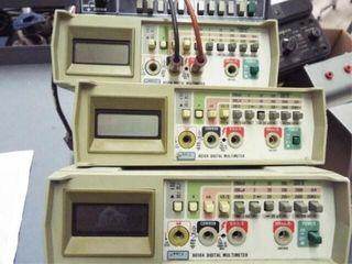 4 ea  801A Multi meters  2 ea  DC amp meters