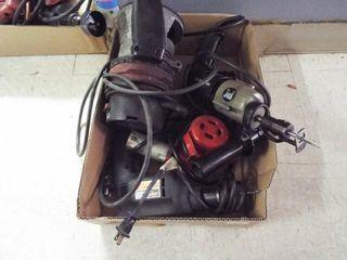 Heat gun  router  2 ea  electric drills