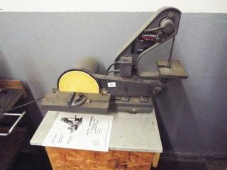 Craftsman 1  belt and 8  disk sander