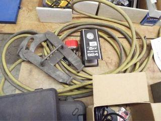 Micro Air gauge  hanging clamp and air hose