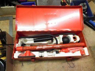 Hein Werner hydraulic porta power in metal box
