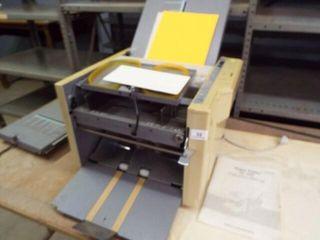 Duplo Folder   Paper Folder