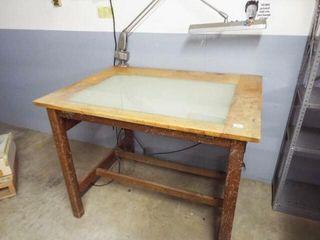 Back lighted Design Table