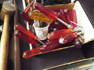 1 Box red handle nut drivers  20 ea