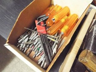 1 box  Allen wrenches with removable handles