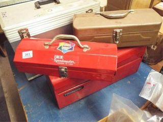 2 ea  Small tool boxes