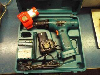 Makita cordless drill  2 batteries