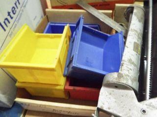 3 ea  Caulking guns  plastic containers