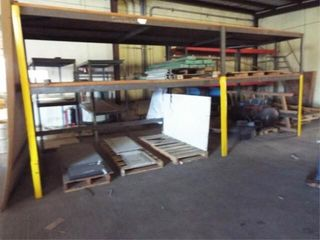 Heavy Duty metal shelving   WElDED TOGETHER