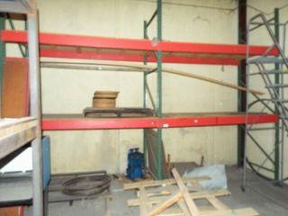 2 ea  Heavy Duty Metal shelving