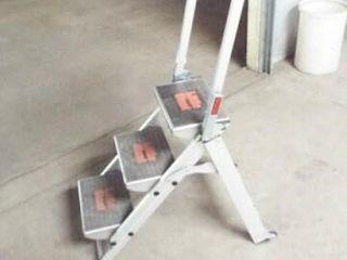3 step aluminum ladder