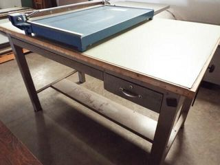 Drafting Desk and Paper cutter