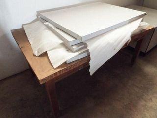 4 ea  Table tops