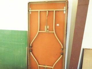 2 ea  Folding leg Table
