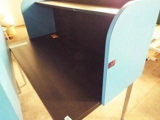 computer  metal leg table