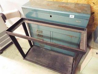 Tool Box Metal Stand