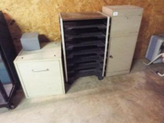 4 Ea  Misc  Cabinets