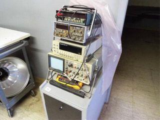 Oscilloscope  Flukes  Phillips Timer Counter