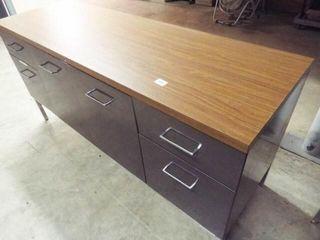 Metal Desk File Cabinet