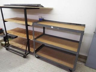 2   Rolling Carts