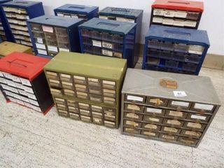 10   Plastic Organizer Bins
