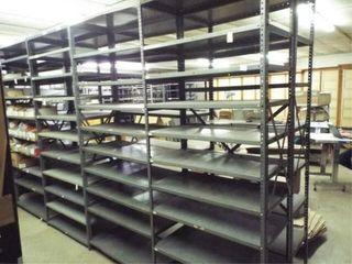 5   Metal Shelves