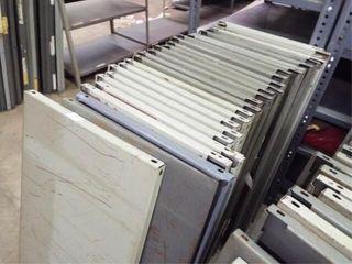26   Metal Shelfs  no frames