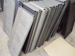 30   Metal Shelfs   no frames