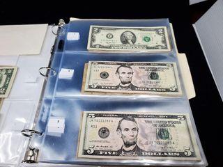 2 Dollar Bill    5 Dollar Bills