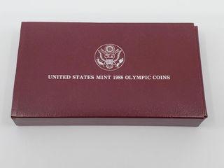 1988 Olympic US Silver Dollar