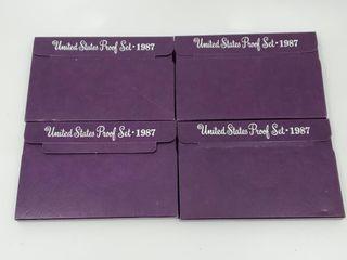4   1987 U S  Proof Sets