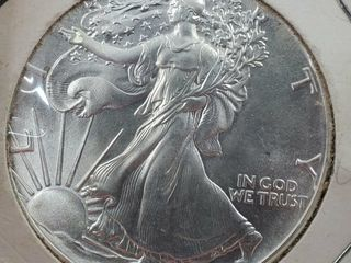 1986 Silver Eagle Coin