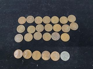 Indian Head   Wheat Pennies