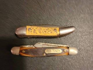 Pair of vintage pocket knifes