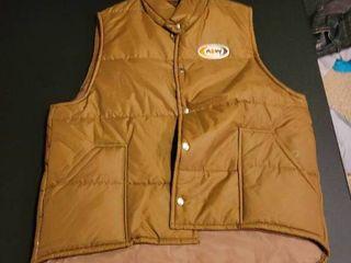 Vintage A W vest size large