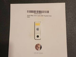 Apple Mac OS thumb drive