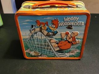 Antique Woody Woodpecker lunchbox