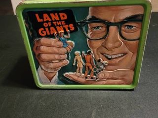 Antique land of the Giants lunch box