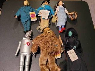 Highly collectable set of Wizard of Oz dolls