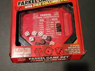 Farkle game set