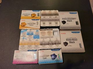 lot of Xerox printer ink